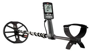 Metal detector for gold - Minelab Equinox 800