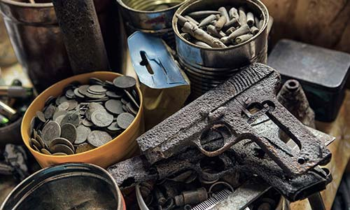 Relics Metal detecting WWII