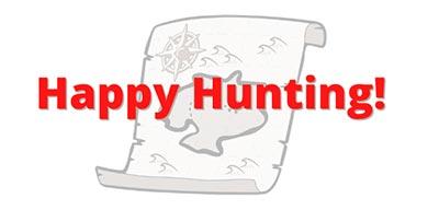Happy Hunting in buy a metal detector